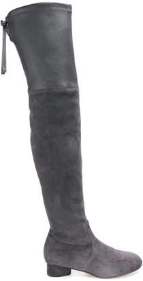 Stuart Weitzman slip-on high boots