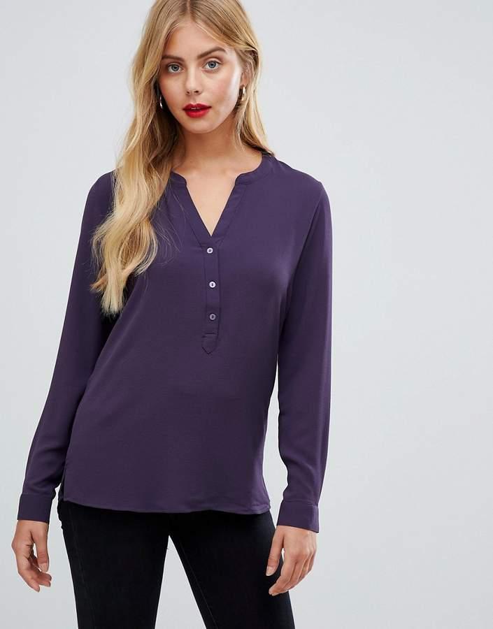JDY Track v-neck blouse