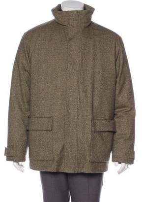 Loro Piana Storm System Wool Jacket