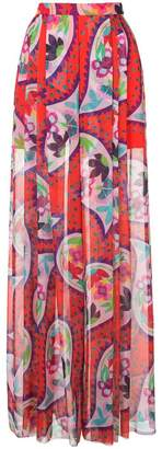 DELPOZO print flared trousers