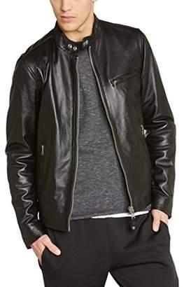 Schott NYC Men's Lc 949 Leather Long Sleeve Jacket