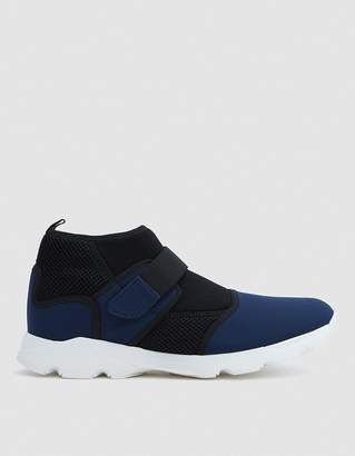 Marni Neoprene Sneaker Shoe in Navy/Black