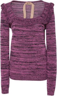 N°21 N 21 Ruffled Neck Pullover