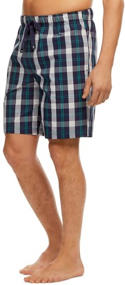 Haggar Men's Stretch Poplin Sleep Shorts