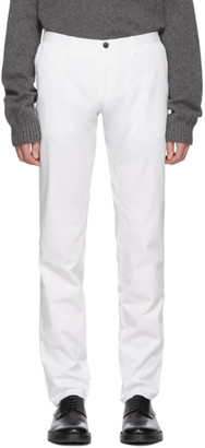 BOSS White Stanino Trousers