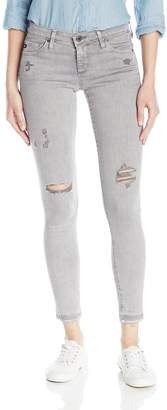 AG Adriano Goldschmied Women's The Legging Ankle Skinny Jeans, Interstellar Worn-Silver Ash