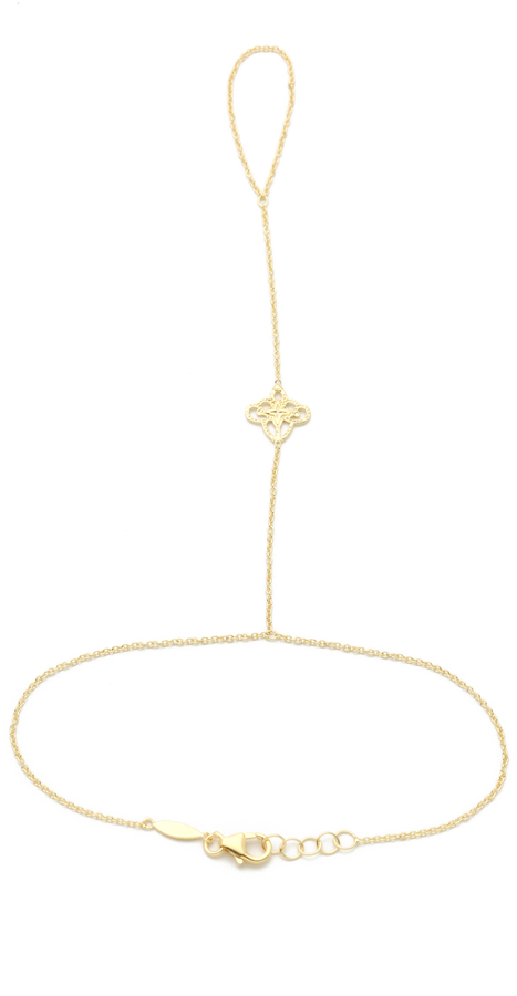 Jacquie Aiche JA Filigree Bracelet / Ring