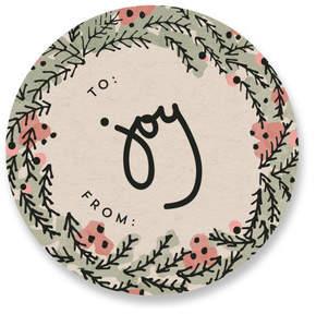 Holly and Joy Custom Stickers