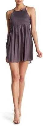 Wishlist Keyhole Back Mini Dress