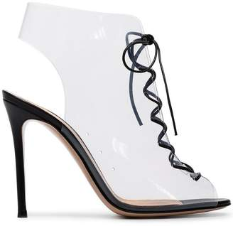 Gianvito Rossi PVC Helmut 105 sandals