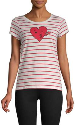 French Connection Women's Heart T-Shirt