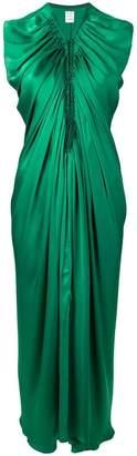 Maison Rabih Kayrouz gathered long dress