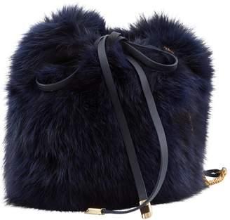 Mr & Mrs Italy Blue Fox Handbag
