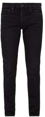 Rag & Bone Slim Leg Jeans - Mens - Black