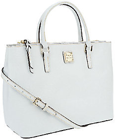 As Is Dooney & Bourke Saffiano Leather Willa Satchel $117 thestylecure.com