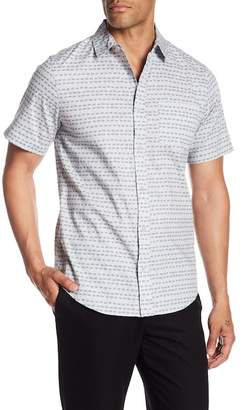 Public Opinion Painted Dot Print Regular Fit Shirt