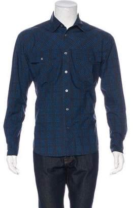 Missoni Geometric Button-Up Shirt