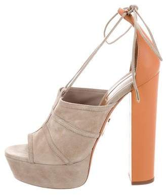 Aquazzura Very Eugenie Platform Sandals