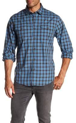 COASTAORO Lake Plaid Regular Fit Flannel Shirt