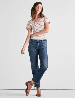 Lucky Brand GIRL NEXT DOOR BOYFRIEND JEAN IN VERA CREST