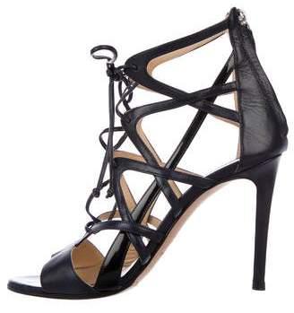 Alejandro Ingelmo Caged Leather Sandals