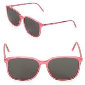 Saint Laurent 58MM Square Sunglasses