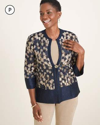 Travelers Collection Petite Trapeze Jacket