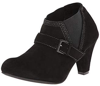 All Black ALL Women's Stretch Belted Bootie