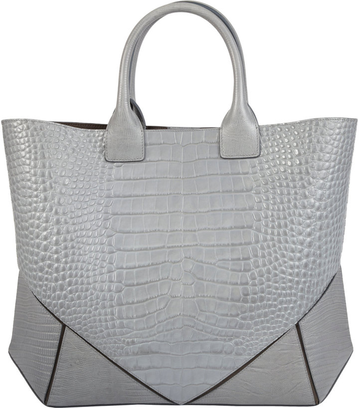 Givenchy Croc-Stamped Easy Tote