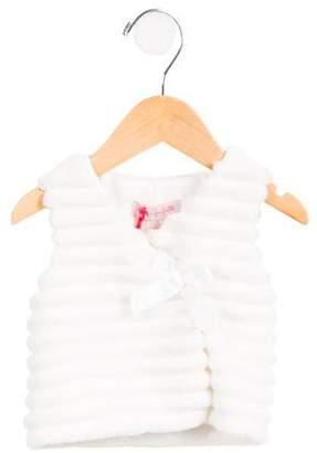 Lili Gaufrette Girls' Faux Fur Vest w/ Tags