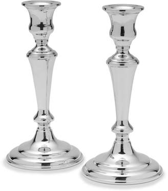 Empire SilverTM Set of 2 Large Pewter Candlesticks