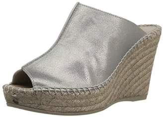 Andre Assous Pewter Suede Wedge
