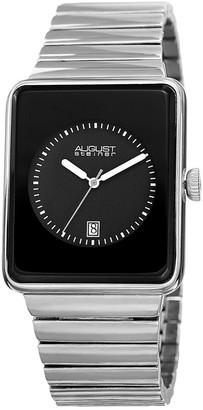 August Steiner Men's Metal Watch