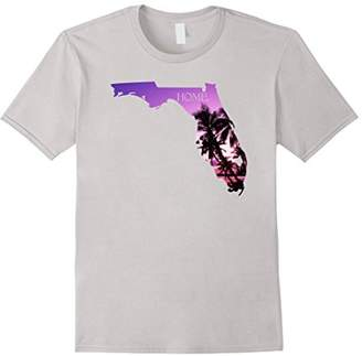 Home Florida State Map T Shirt - Florida Flag T-Shirt