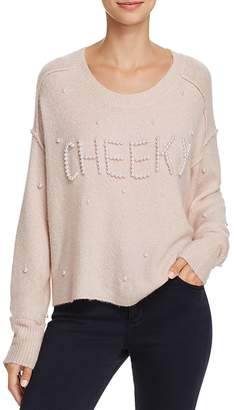 Wildfox Couture Cherie Embellished Sweater