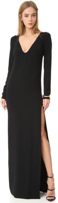 DSQUARED2 Sleeveless V Neck Dress $1,155 thestylecure.com