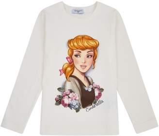 MonnaLisa Cinderella Print T-Shirt