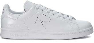 Sneaker Adidas X Raf Simons Stan Smith In Pelle Bianca $255 thestylecure.com