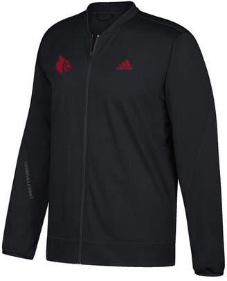 adidas Men's Louisville Cardinals Basketball Warm Up Jacket