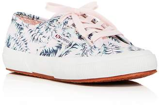 Superga Women's Fantasy Cotu Canvas Lace Up Sneakers