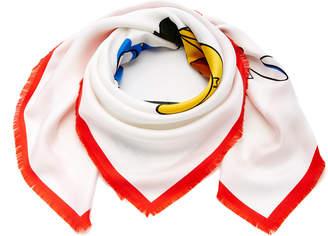 Loewe Holiday Silk Scarf