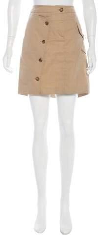 Burberry London A-Line Mini Skirt