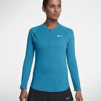 Nike NikeCourt Pure Women's Half-Zip Tennis Top