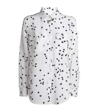 Equipment Signature Star Print Shirt