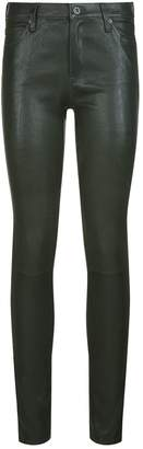 AG Jeans Leather Skinny-Fit Leggings