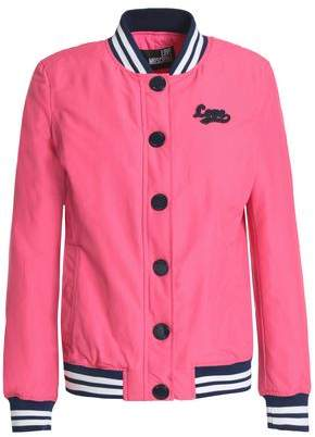 Love Moschino Cotton-Blend Bomber Jacket
