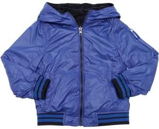 Reversible Nylon & Terrycloth Jacket