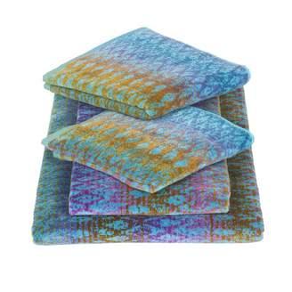 Elaiva Blue Ocean Magic Five Piece Bath Towel Set