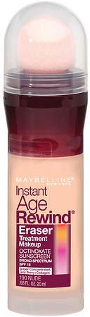 Maybelline Instant Age Rewind Eraser Treatment Liquid Makeup SPF 18