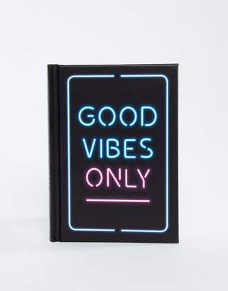 Books Good vibes only positivity quotes book